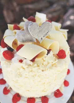 two hearts become one cake topper