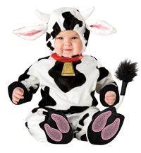 Mini muh Ko babyer og småbørn kostume - Baby kostumer