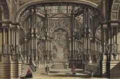 Galli Bibiena pillars baroque