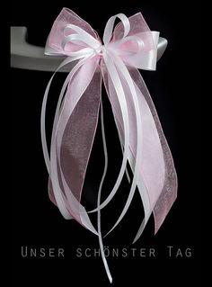 Weiteres - SCH0093 10 Antennenschleifen Autoschleife Hochzeit - ein Designerstück von unser-schoenster-Tag bei DaWanda