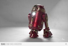 Iron Man R2D2