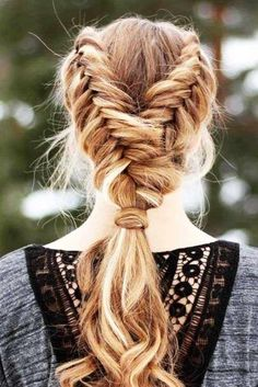 Dutch Fishtail Braids picture 3