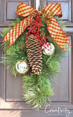 Creative DIY Christmas Wreath Projects.