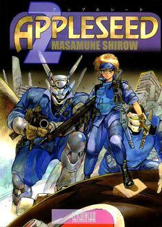Tv Covers, Manga Covers, Character Art, Character Design, Masamune Shirow, Motoko Kusanagi, Apple Seeds, Ghost In The Shell, Sci Fi Art