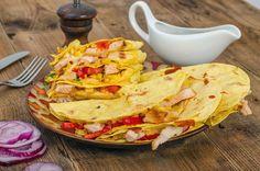 El pollo en México es siempre parte de los rellenos más ricos, y si los acompañas con buenas salsas logras un gran manjar http://www.bestday.com.mx/Mexico/Restaurantes/