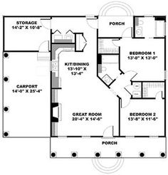 The Perfect Cottage! - 2562DH | Country, Southern, Narrow Lot, 1st Floor Master Suite, Carport, PDF | Architectural Designs