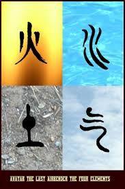 Resultado de imagen para tatuajes avatar elementos