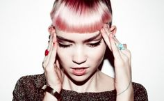 Grimes is so good with color.