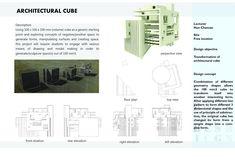 Architectural Cube Transformation   arch. stud. Sok Muygech