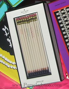 Kate Spade Pencils - Can't do without!