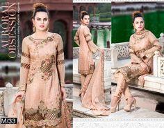 Maryam Chiffon Vol-13 2017 M33 | Clothing9 Store