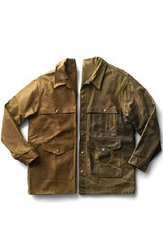 the Filson cruiser jacket - better with age