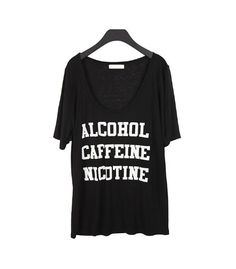 T-shirt - Addict - T-shirts & Tanks - Women - Modekungen | Clothing, Shoes and Accessories