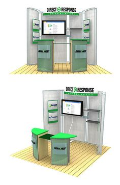 direct response trade show booth design by John LeDonne of ledonnecreative.com.