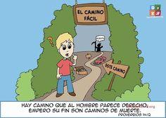 """""""Hay camino que al hombre le parece derecho; Pero su fín es camino de muerte""""...Proverbios 14:12 ღ✟"""