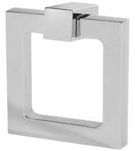 Modern 2 Inch Square Furniture Ring Pull, Field Enterprises RPS-220