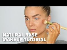 Natural Base - Linda Hallberg Makeup Tutorials - YouTube (Faux freckles)