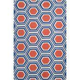 Found it at Wayfair - Jill Rosenwald Rugs Fallon Royal Blue Rug 5x8 $291, 8x11 $700