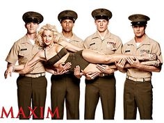 Curvy Kellie Pickler is not only a country star, but also Maxim's latest troop-supporting pin-up girl. #examinercom