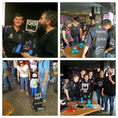 We participated at the Genuino Day 2016 with Paquito F1 in schools Mexico and Dash & Dot! Special thanks to our friends from @hacedorescom for the invitation  #omgrobots #makeItLoud #Technology #inspire #makerspace #arduino #genuino #hardware #robot #robotics #expo #hacedores #electronics by panterasup