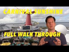 Carnival Sunshine - Full Walkthrough - Ship Tour