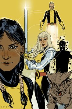 New Mutants by Phil Noto