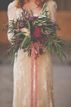 Ruby Reds Floral | Christina Block Photography