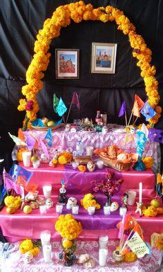 Ideas para Altar de Muertos - Pasteles D' Lulú