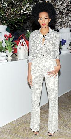 #badddddd love it! For once I'm loving Solange's style!