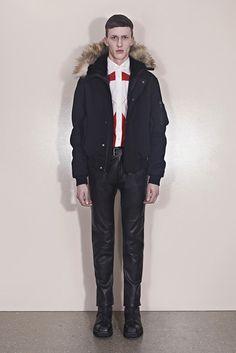 Alexander McQueen Fall Winter 2013 Menswear