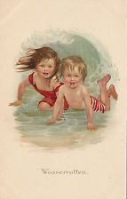 Susan Pearse Children in the waves