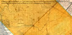 Washington Dc Map, Dotted Line, Library Of Congress, Geology, Geography, 19th Century, Maps, How To Plan, Stone