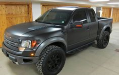 Ken Block has a new toy to add to his garage! Ford presented Ken with a brand new Ford Raptor truck. Check out the photos below. Not a bad winter toy! So Ford, 2011 Ford Raptor, Ford Raptor Price, Black Ford Raptor, Ford F150 Raptor, Ford Svt, 2011 Ford F150, Ford Velociraptor, Big Trucks, Ford Trucks