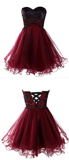 Sweetheart Pretty Lace A-Line Homecoming Dress,Short Prom Dresses,Cocktail Dress,Homecoming Dress,Graduation Dress,Party Dress