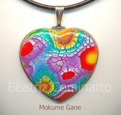 Mokume gane em cerâmica plástica (Fimo) | Flickr - Photo Sharing!