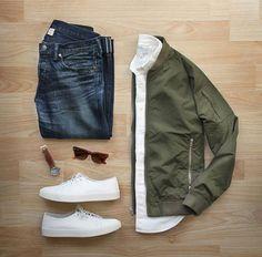 Kaki jacket