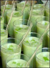 Soupe froide de concombre à la menthe (Dukan/PL)