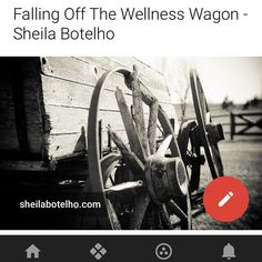 Have fun taking a break over the holidays.  Let loose & enjoy! When you're ready to start rockin' your wellness routine again, I've got you covered. :))   http://www.sheilabotelho.com/falling-off-the-wellness-wagon/  #wellnesscoach #heslthyliving #youcandoit #toronto #canada #vibrantlife