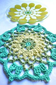 Crochet: The Bold & The Beautiful Placemats