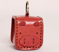 7b39b3dd53ee9d Pig Leather Coin Purse with Keychain Leather Bag, Coin Purse, Suitcase,  Leather Bag