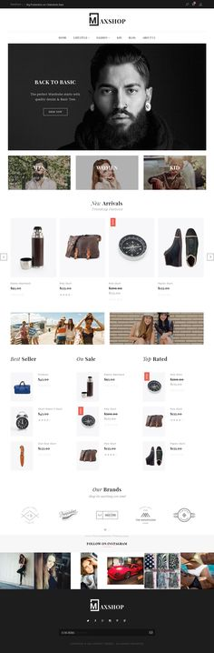 Maxhop is a ultimate responsive #Shopify theme inspired by modern #eCommerce designs. It's best suite for any store such as: fashion, furniture, lingerie, technology, accessories. #template