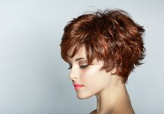 Short shaggy hair | 30 Overwhelming Short Haircuts For Curly Hair | CreativeFan
