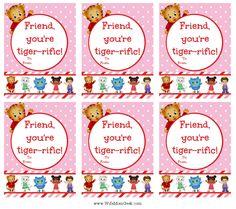 Http://gluesticksgumdrops.com/daniel Tiger Valentines Free