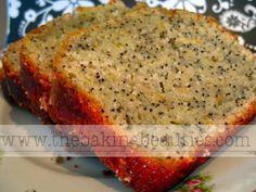 Gluten-Free Lemon Poppy Seed Loaf - The Baking Beauties