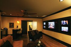 Unbelievable Media Room in Plan 024S-0024 | House Plans and More