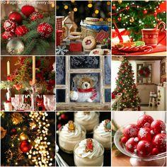 ~Katarina~Collage by Miss Katarina Christmas Quiz, Christmas Collage, Christmas Mood, Country Christmas, All Things Christmas, Christmas Crafts, Merry Christmas, Christmas Decorations, Holiday Decor