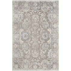 Features:  -Construction: Machine woven.  -Technique: Loomed.  Technique: -Machine woven.  Primary Color: -Taupe and blue.  Material: -Synthetic/Cotton.  Product Type: -Area Rug. Dimensions: Rug Size