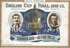 English Cup, Bill Shankly, Aston Villa Fc, Sunderland Afc, Palace London, Sir Alex Ferguson, Leeds United, Football Pictures, Football Program