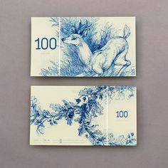 Barbara Bernát conceptualizes a fictional currency, the Hungarian Euro. More on Plain Magazine