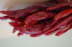I took this photo in 2010, right after we first moved to New Mexico. This chili bunch hangs on our fireplace.